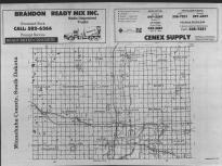 Index Map, Minnehaha County 1988